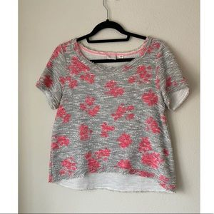 Anthropologie postmark floral top
